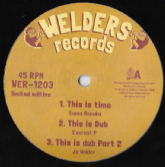 Sama Renuka - This Is Time - Dub - Dub Pt 2 / Everest P - Wild Fire/ Part 2 (Welders) UK 12""